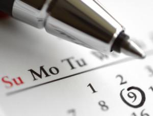 Calendario della raccolta