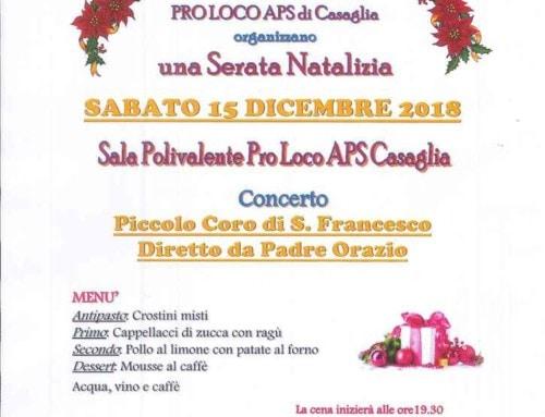 Serata Natalizia con coro di S. Francesco